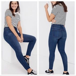 "NWT Madewell 9"" Mid-Rise Skinny Jeans"
